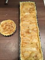 Manoncooks - tarte - céleri rave - amandes